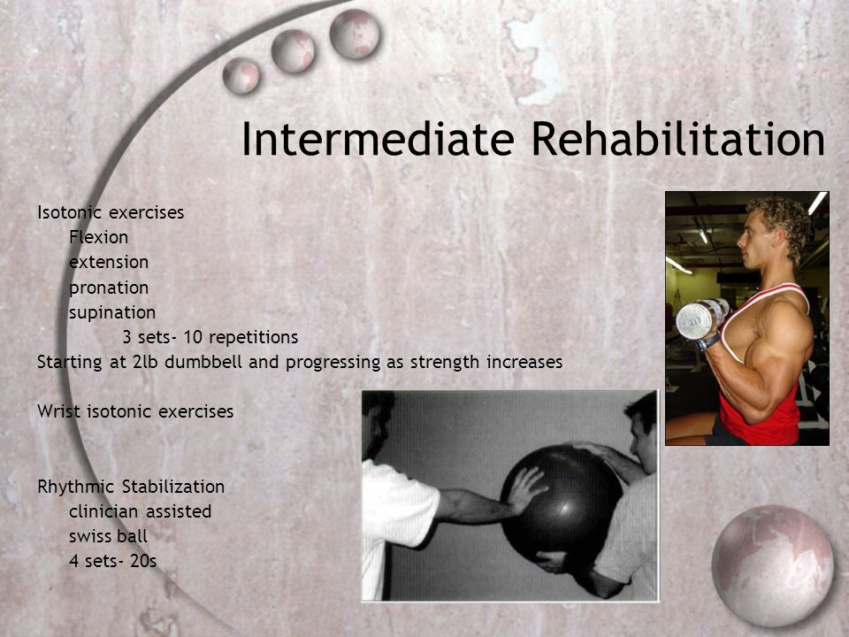 Intermediate Rehabilitation
