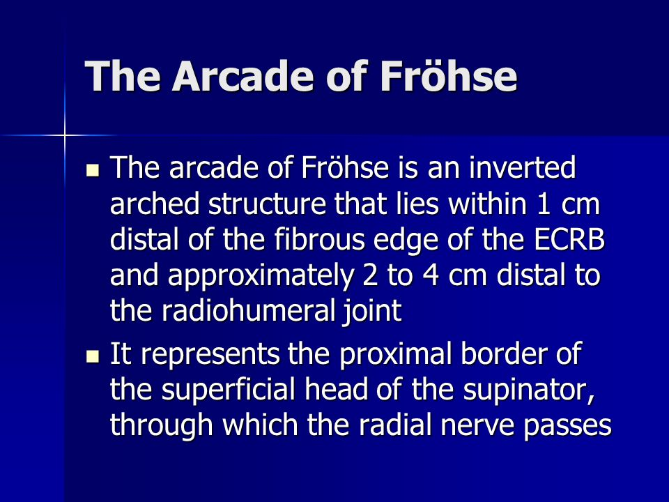 The Arcade of Fröhse