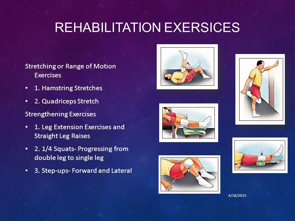 REHABILITATION EXERSICES