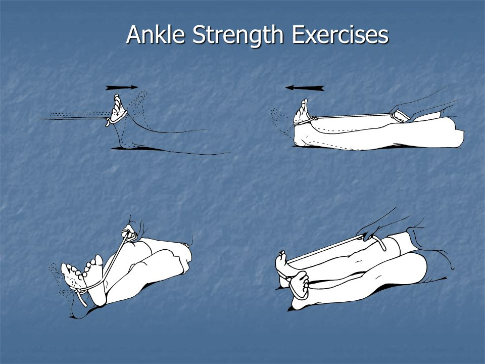 Ankle Strength Exercises