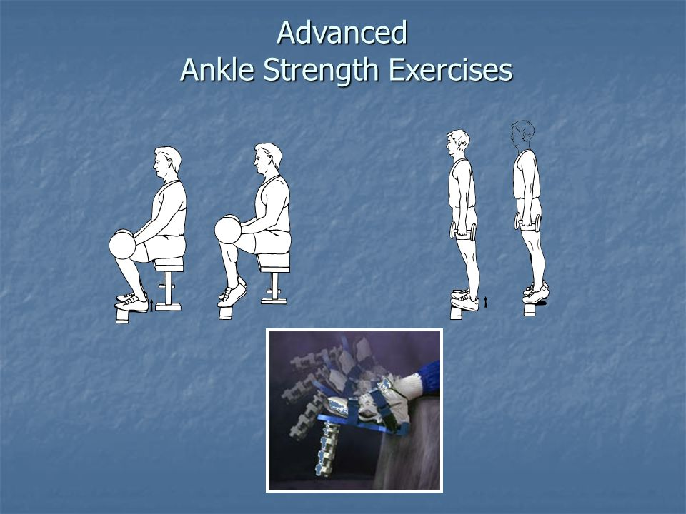 Advanced Ankle Strength Exercises