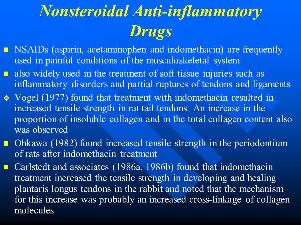 Nonsteroidal Anti-inflammatory Drugs