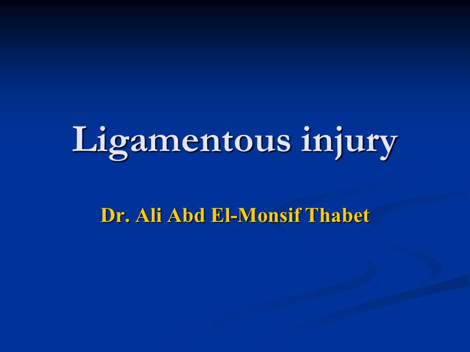 Dr. Ali Abd El-Monsif Thabet