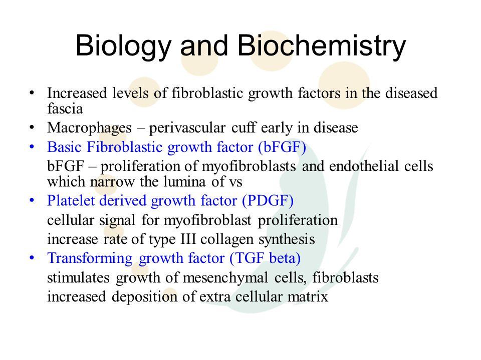 Biology and Biochemistry