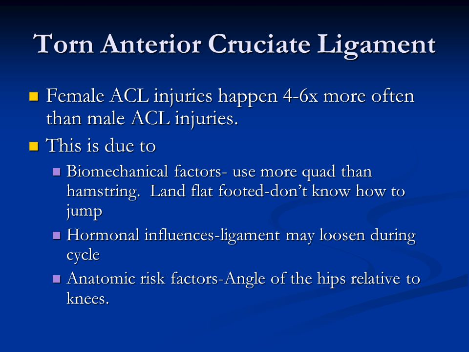 Knee Injuries Ppt Video Online Download