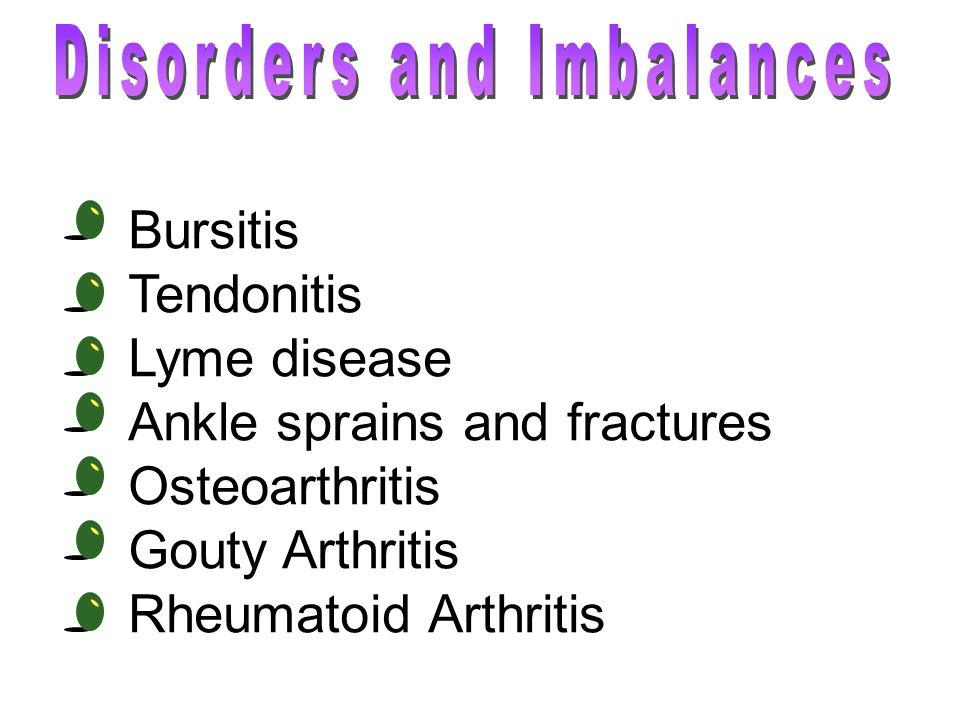 Disorders and Imbalances