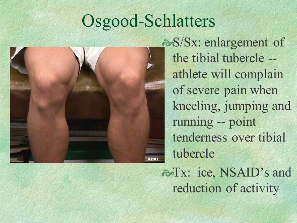 Osgood-Schlatters