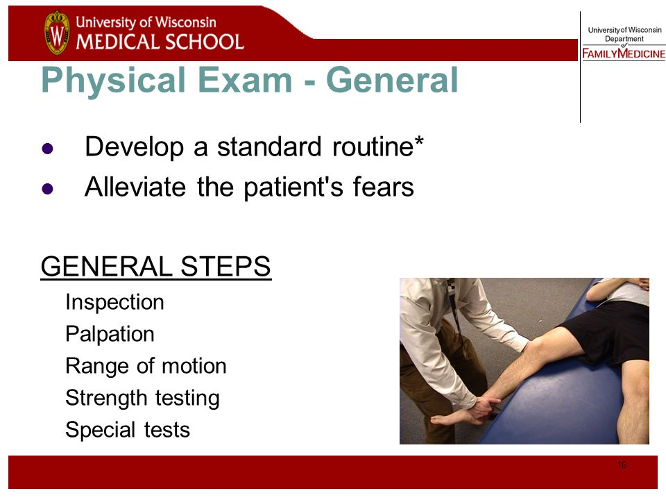 Physical Exam - General
