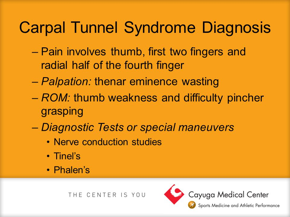 Carpal Tunnel Syndrome Diagnosis