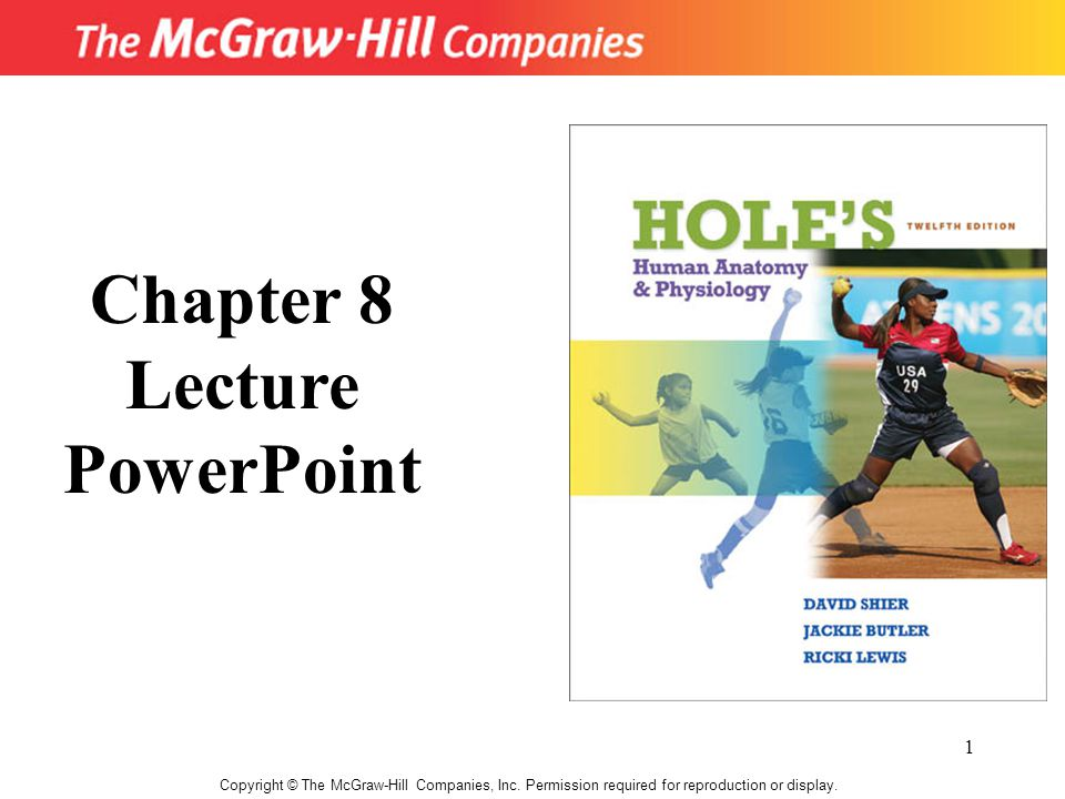 Chapter 8 Lecture PowerPoint