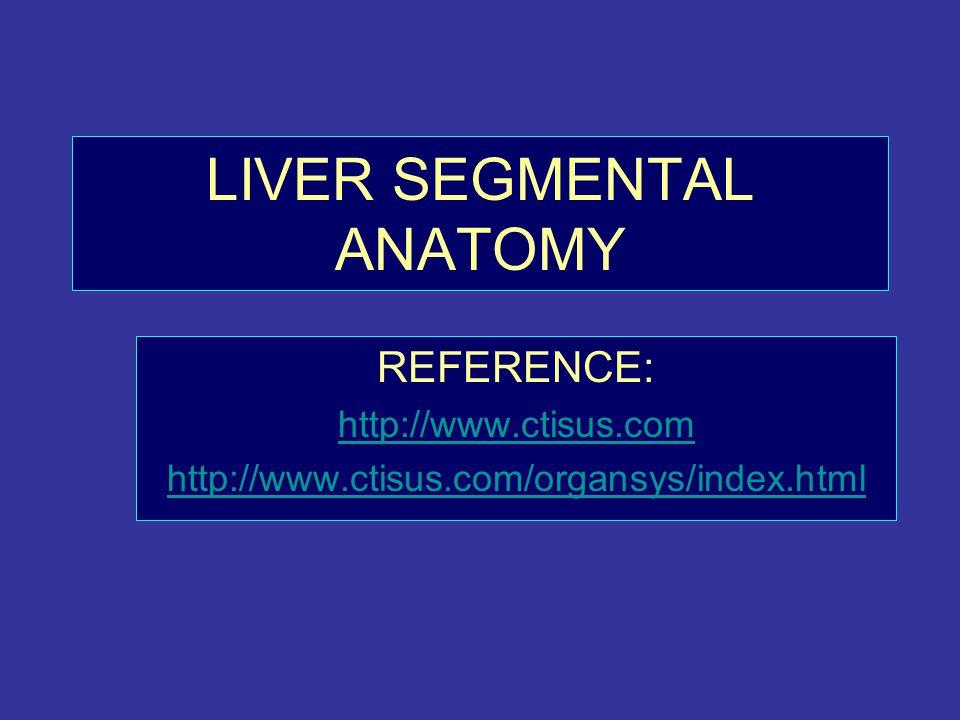 Liver Segmental Anatomy Ppt Video Online Download