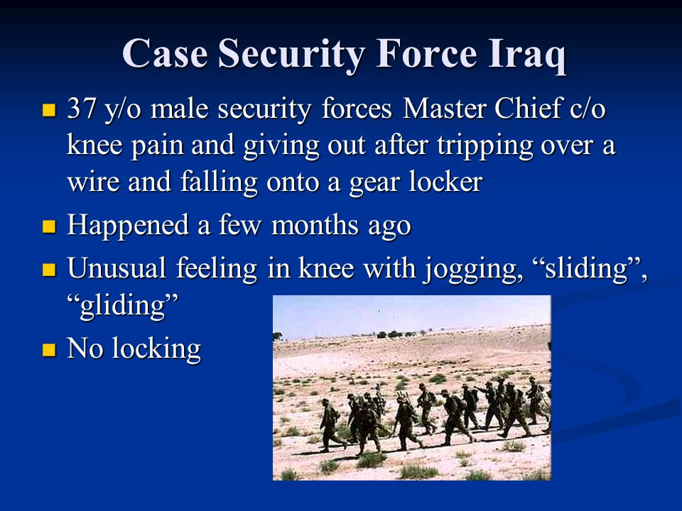 Case Security Force Iraq