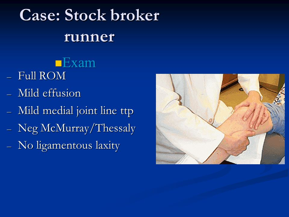 Case: Stock broker runner