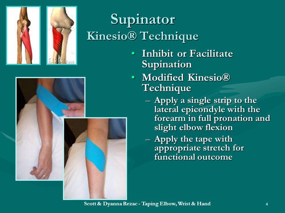 Supinator Kinesio® Technique