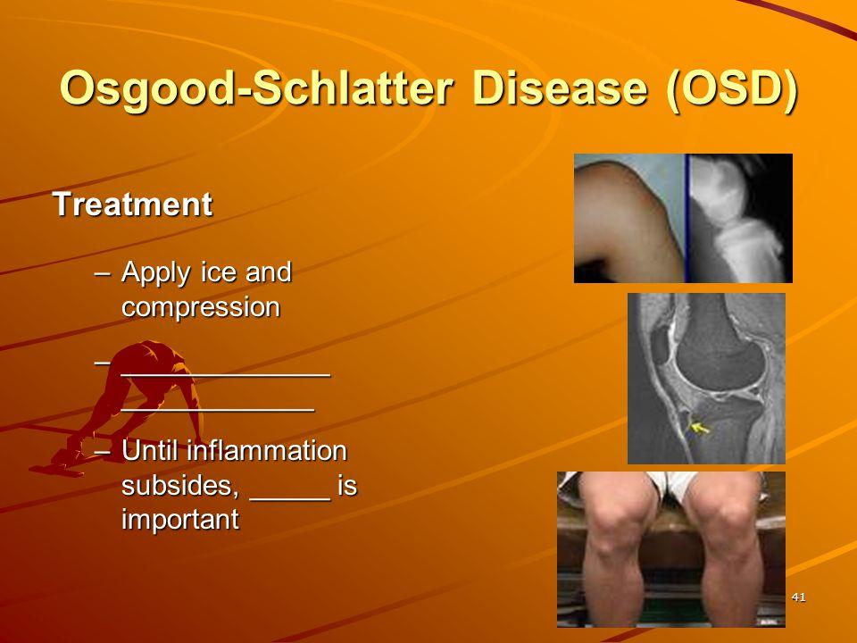 Osgood-Schlatter Disease (OSD)