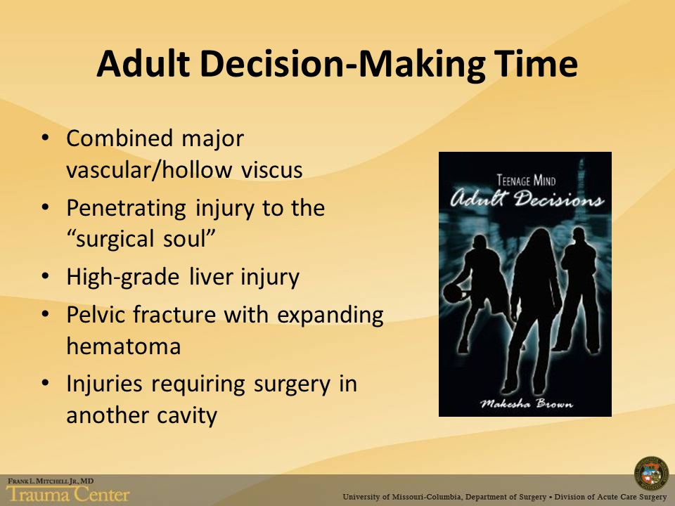 Adult Decision-Making Time