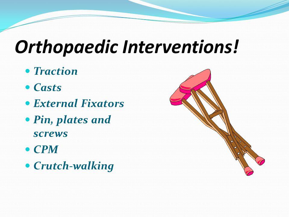 Orthopaedic Interventions!