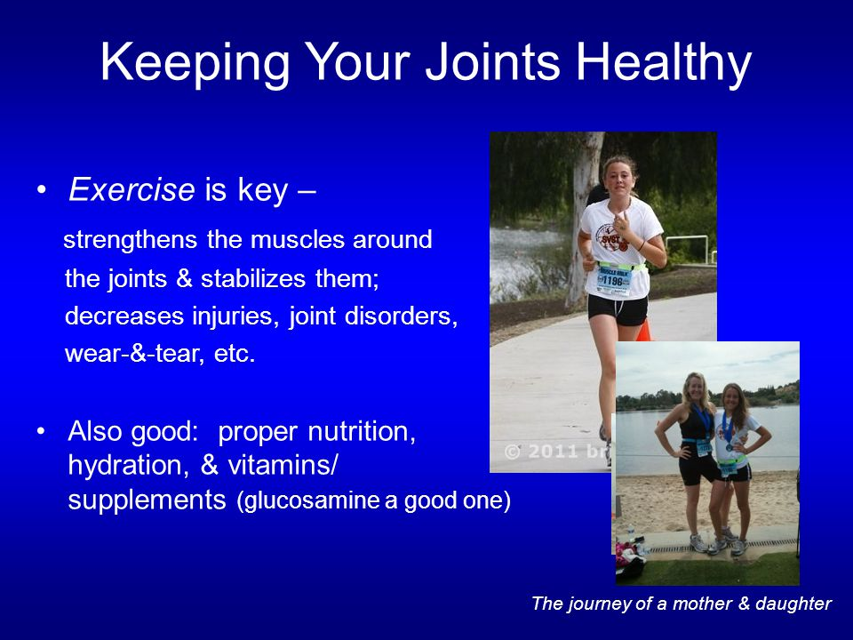 Keeping Your Joints Healthy