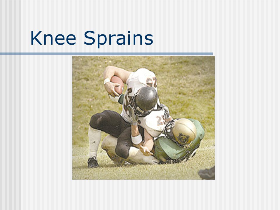 Knee Sprains