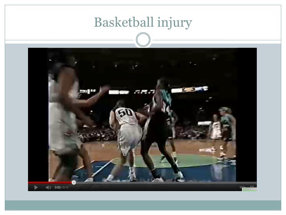 Basketball injury Rebecca Lobo basketball injury