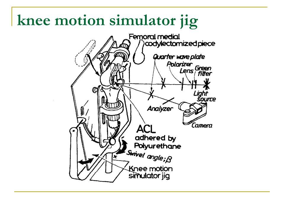 knee motion simulator jig