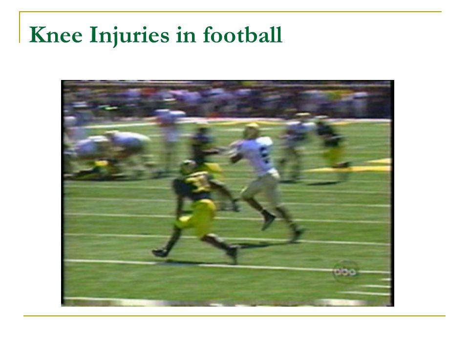 Knee Injuries in football