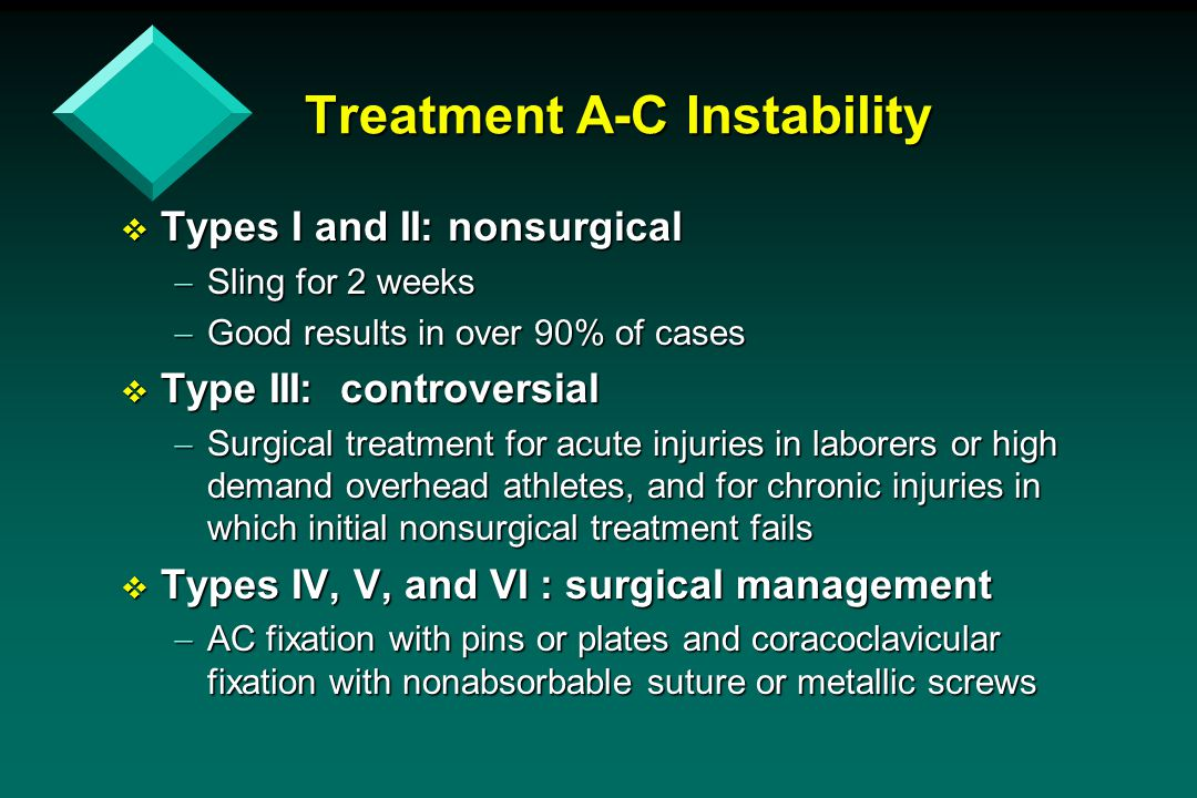 Treatment A-C Instability