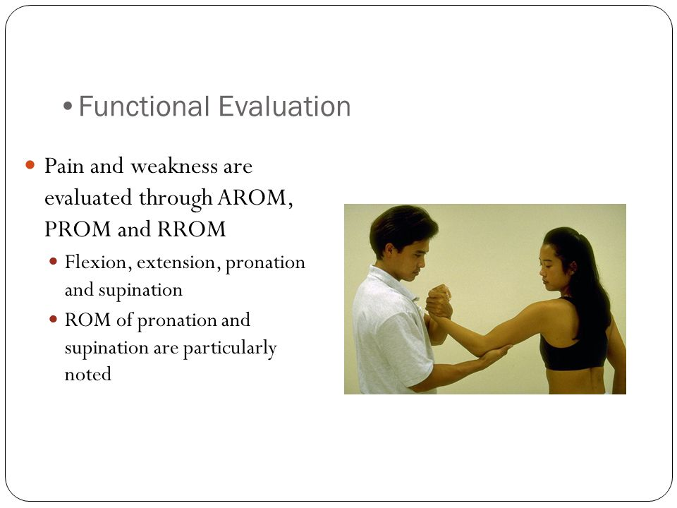 Functional Evaluation