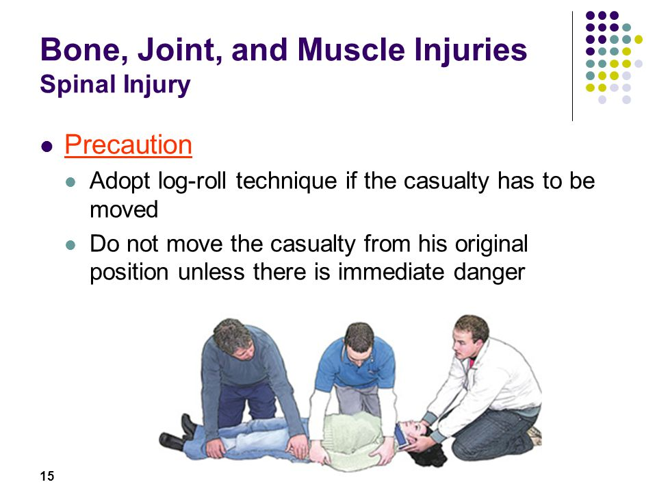 Bone, Joint, and Muscle Injuries Spinal Injury