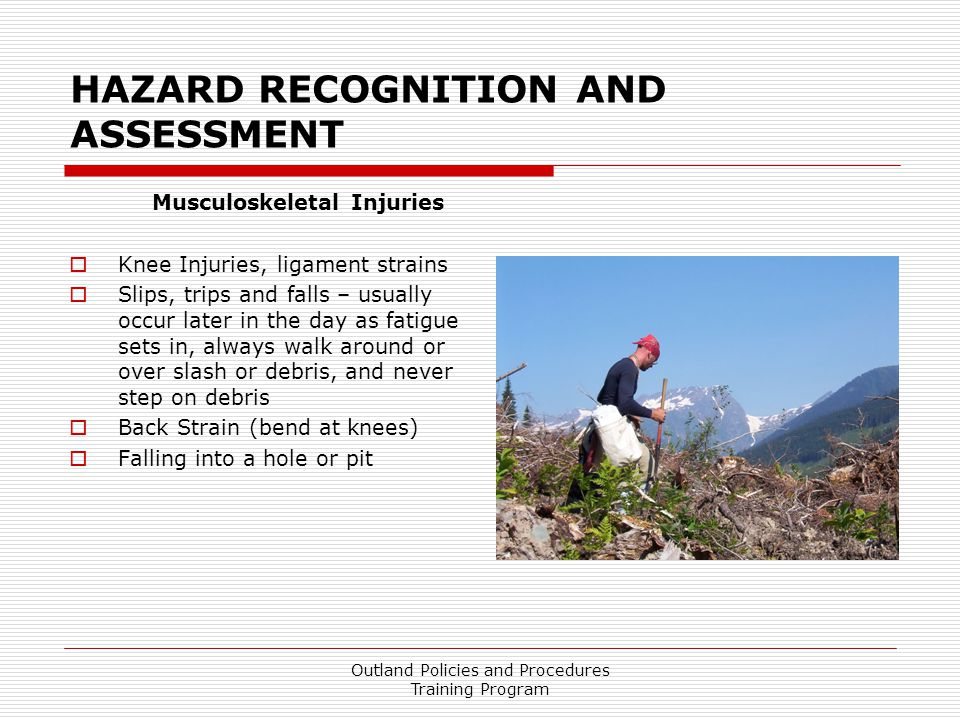 HAZARD RECOGNITION AND ASSESSMENT