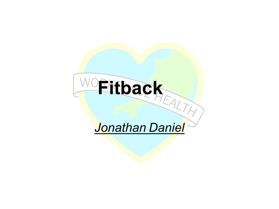 Fitback Jonathan Daniel