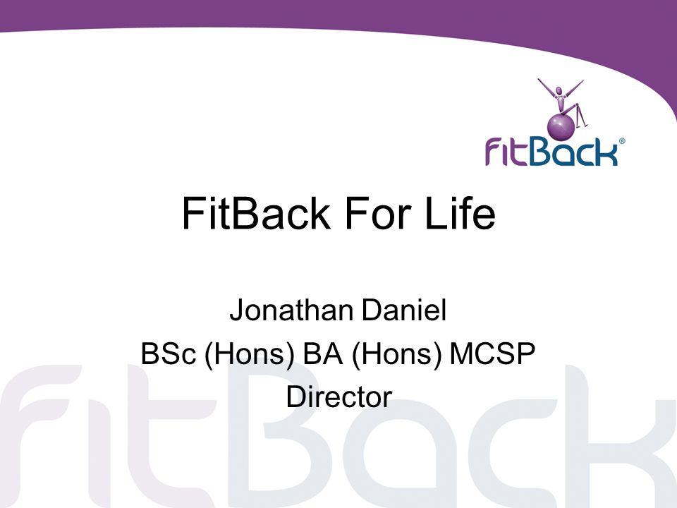 Jonathan Daniel BSc (Hons) BA (Hons) MCSP Director