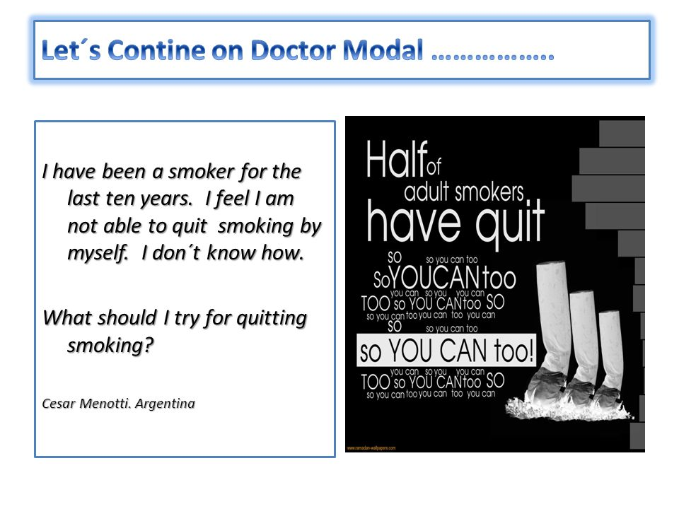 Let´s Contine on Doctor Modal ……………..