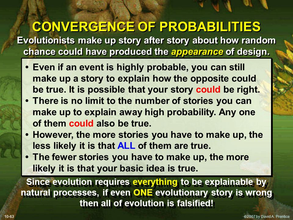 CONVERGENCE OF PROBABILITIES