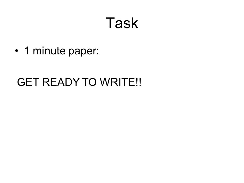 Task 1 minute paper: What are the purposes of the skeleton