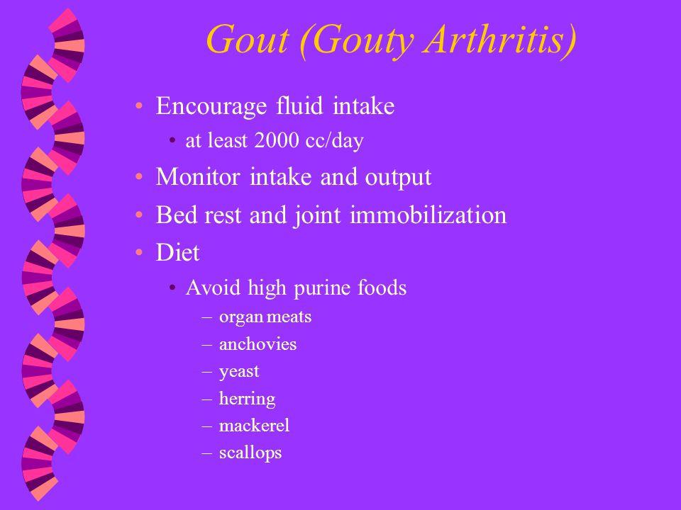 pathophysiology of gouty arthritis pdf