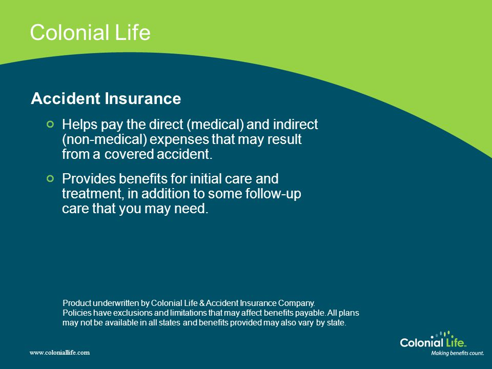 Colonial Life Accident Insurance