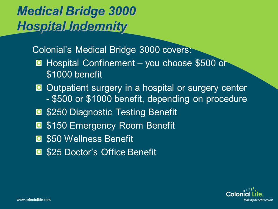 Medical Bridge 3000 Hospital Indemnity