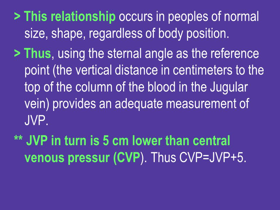 > This relationship occurs in peoples of normal size, shape, regardless of body position.