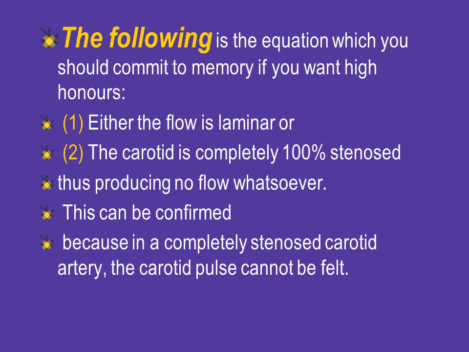 The following is the equation which you should commit to memory if you want high honours: