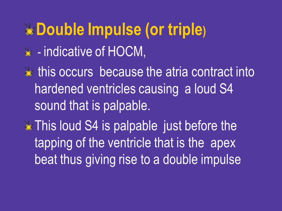 Double Impulse (or triple)