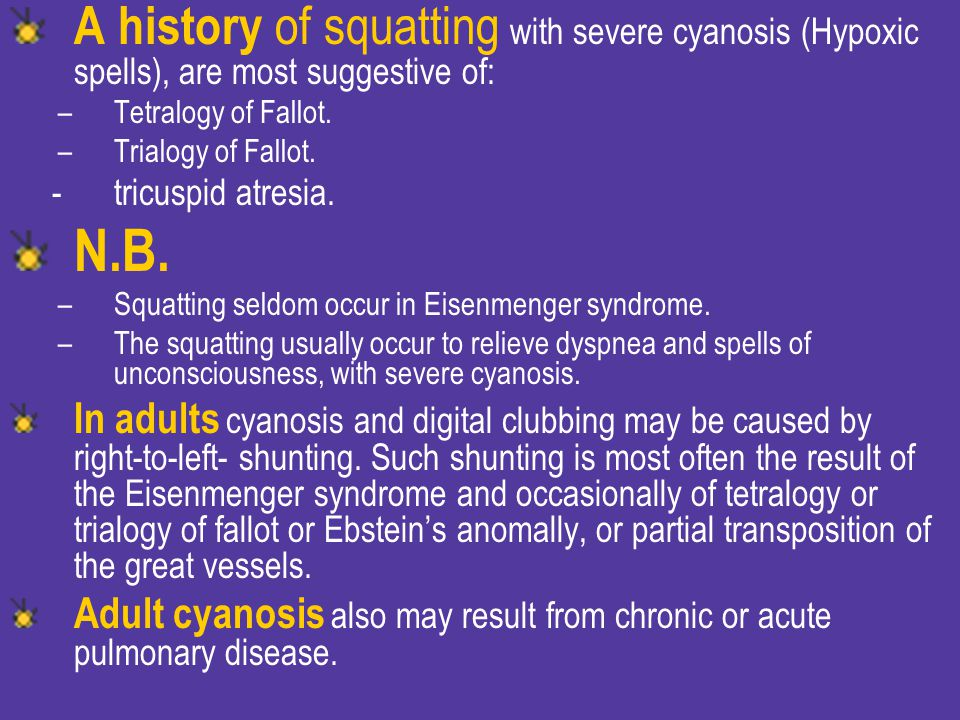 A history of squatting with severe cyanosis (Hypoxic spells), are most suggestive of: