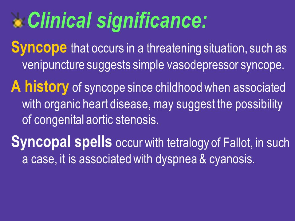 Clinical significance: