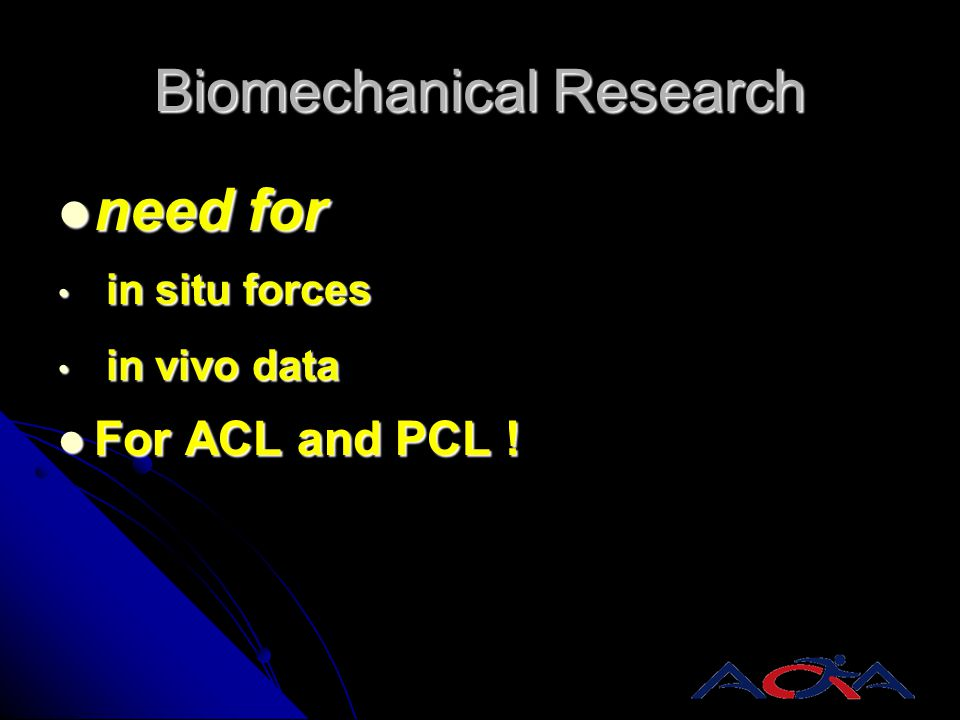 Biomechanical Research