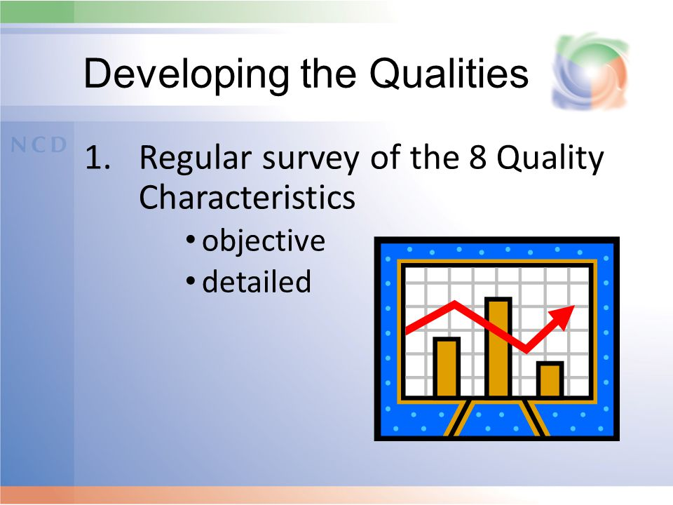 Developing the Qualities