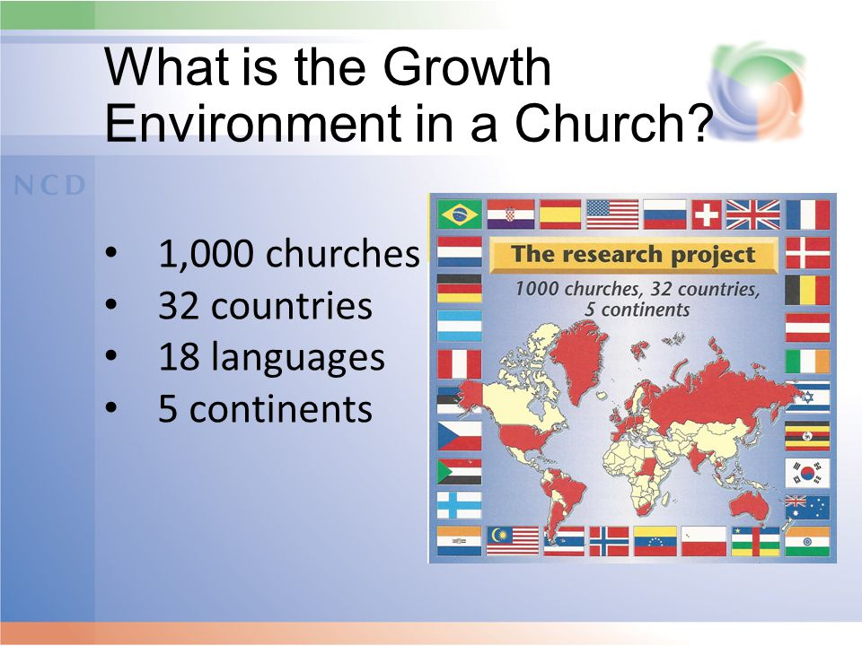 What is the Growth Environment in a Church