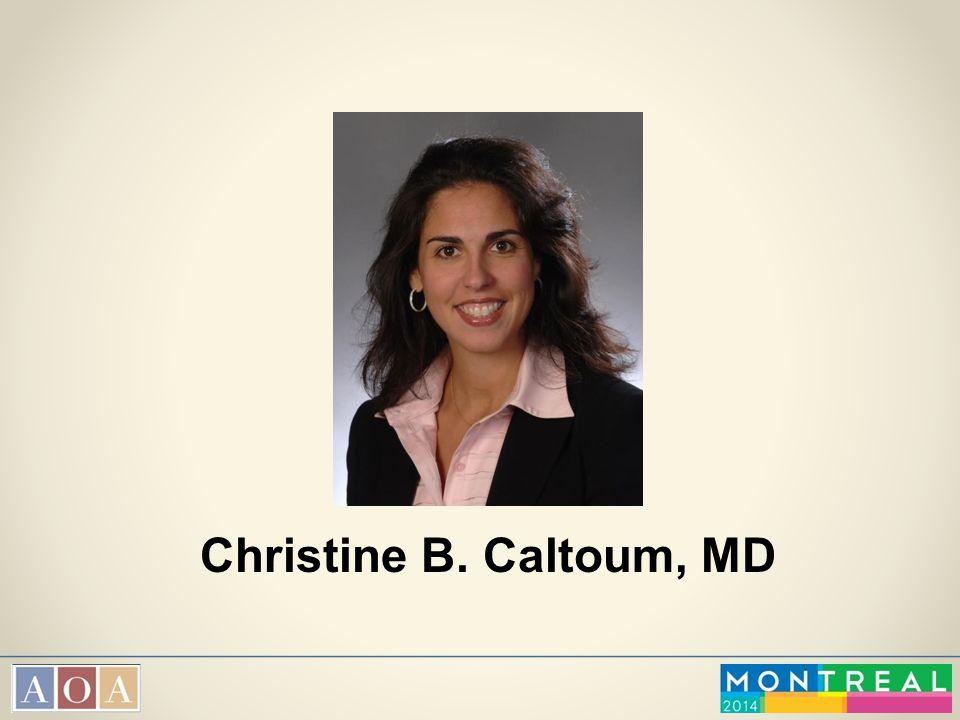 Christine B. Caltoum, MD