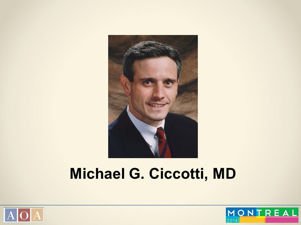 Michael G. Ciccotti, MD