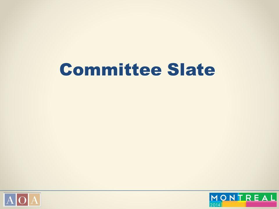 Committee Slate