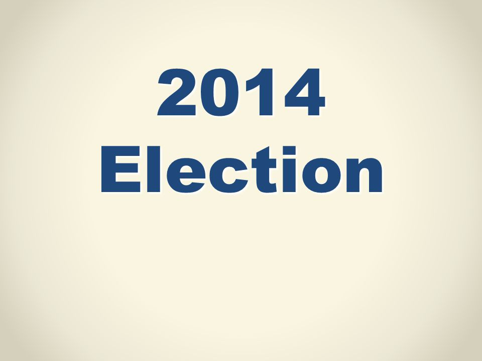 2014 Election